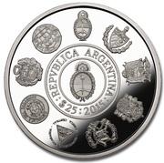 25 Pesos (Ibero-American Series - Wiphala flag) – reverse