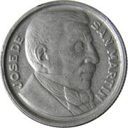 10 Centavos (José de San Martin) – reverse