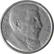20 Centavos (José San Martin) – reverse