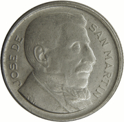 10 Centavos (reeded edge) – obverse