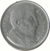 20 Centavos (reeded edge) -  reverse