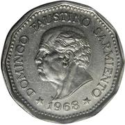 25 Pesos (Faustino Sarmiento) – obverse