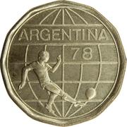 50 Pesos (Soccer) -  obverse