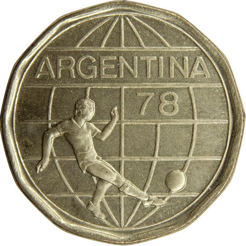50 Pesos Soccer Argentina Numista