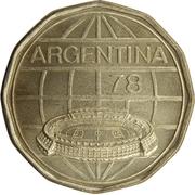 100 Pesos (Soccer) -  obverse