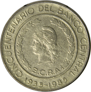 50 Pesos (Central Bank Anniversary) -  obverse