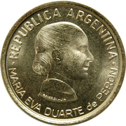 50 Centavos (Women's Vote) -  obverse