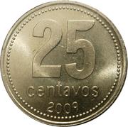 25 Centavos – reverse