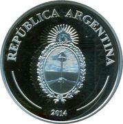 """5 Pesos (Fabulous 15 """"El payador"""") – reverse"""