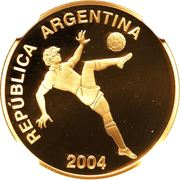 10 Pesos (World Cup Germany 2006) -  obverse