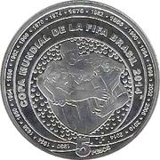 5 Pesos (FIFA World Cup Brazil 2014) -  obverse