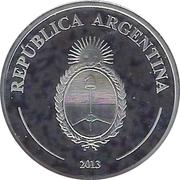 5 Pesos (FIFA World Cup Brazil 2014) -  reverse