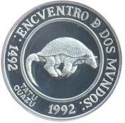 25 Pesos (Ibero-American Series - Giant Armadillo) -  obverse
