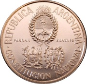 25 Pesos (National Constitution Convention) -  obverse