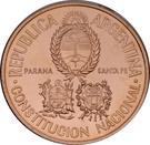 50 Pesos (National Constitution Convention) – obverse