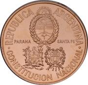 50 Pesos (National Constitution Convention) -  obverse