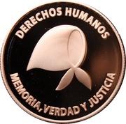 5 Pesos (Defense of Human Rights) -  obverse