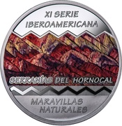 25 Pesos (Ibero-American Series - Serranias del Hornocal) -  obverse