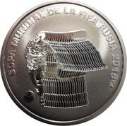 5 Pesos (FIFA World Cup Russia 2018) -  reverse