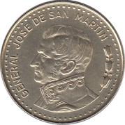 50 Pesos (magnetic) – obverse