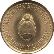 10 Centavos (reeded edge; non-magnetic) -  obverse