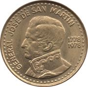 50 Pesos (José de San Martín) – obverse