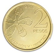 2 Pesos – reverse