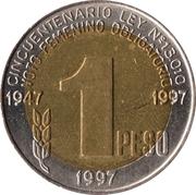 1 Peso (Women's Vote) -  obverse