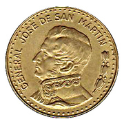 50 Pesos (non-magnetic) -  reverse