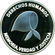 1 Peso (Defence of Human Rights) -  obverse