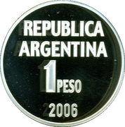 1 Peso (Defence of Human Rights) -  reverse