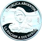 1 Peso (Islas Malvinas Occupation) – obverse