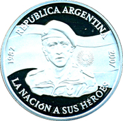 1 Peso (Islas Malvinas Occupation) – obverse