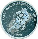 1 Peso (Rally Dakar Argentina-Chile 2010) – obverse