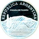 1 Peso (Pucará de Tilcara - Silver Proof Issue) – obverse