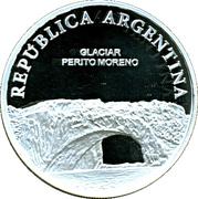 1 Peso (Glaciar Perito Moreno - Silver Proof Issue) -  obverse