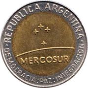 1 Peso (Mercosur) -  obverse