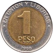 1 Peso (Mercosur) -  reverse