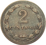 2 Centavos – reverse