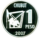 1 Peso (Centenary of the Discovery of Oil in Argentina) – reverse