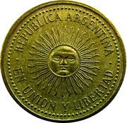 5 Centavos (reeded edge) -  obverse