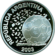 5 Pesos (World Cup Germany 2006) -  obverse