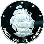 25 Pesos (Ibero-American Series - Sarmiento Frigate) – obverse