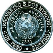 25 Pesos (Ibero-American Series - Patacón) -  obverse