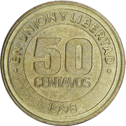 50 Centavos (Mercosur) -  reverse