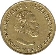 50 Centavos (General Güemes) -  obverse