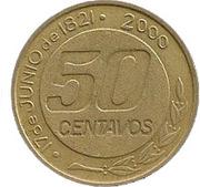 50 Centavos (General Güemes) -  reverse