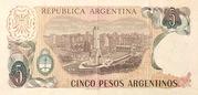5 Pesos argentinos -  reverse