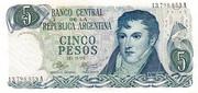 5 Pesos – obverse