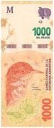 1,000 Pesos – obverse